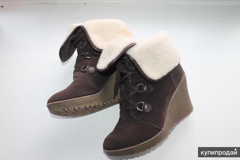 Продам осенне-зимние ботинки