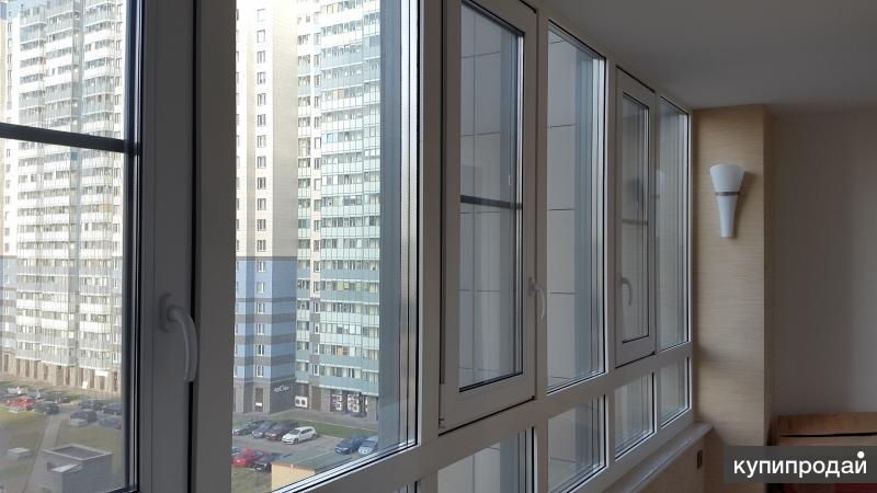 """Металлопластиковое остекление балконов от производителя """"пск."""