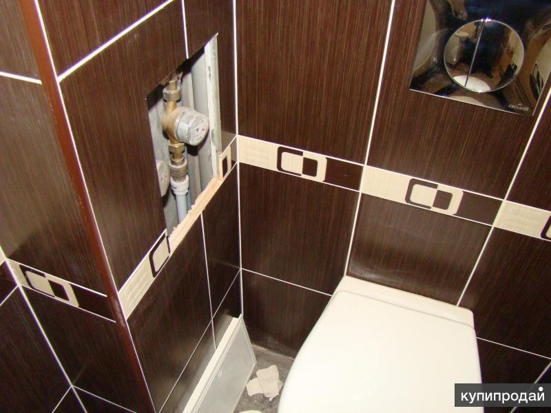 Демонтаж. Ремонт ванной комнаты, санузла. Электромонтажные работы.