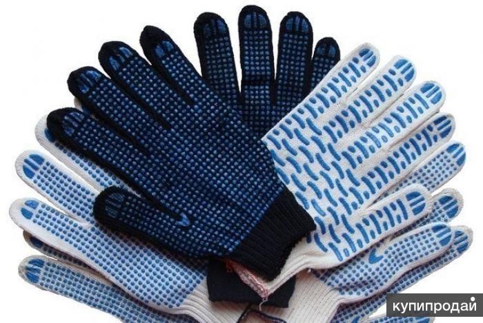 Перчатки рабочие в ассортименте, краги, рукавицы