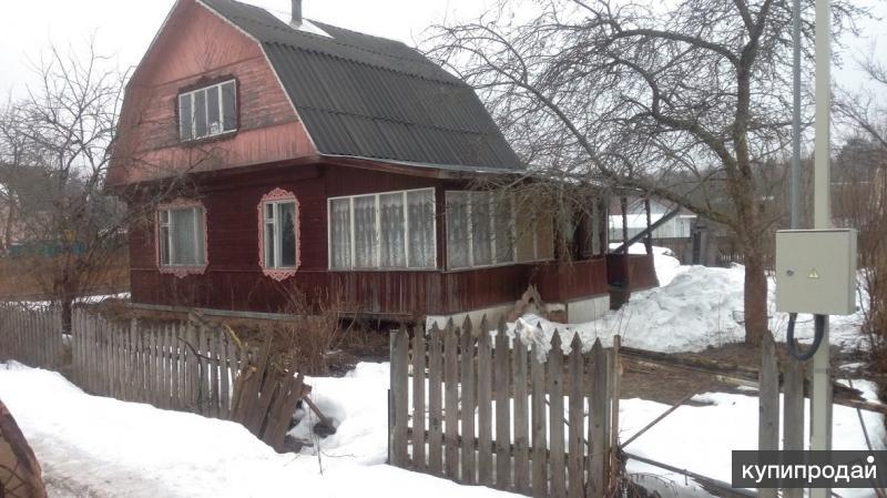 Дачный жилой дом 75 м2 из бруса на 6 сотках с садом