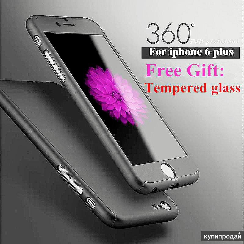 Чехол Iphone Applle 6 plus 360°