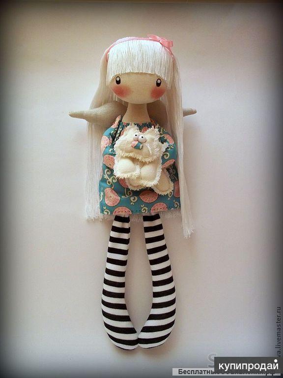 Курс мягкой игрушки ( кукла Тильда)
