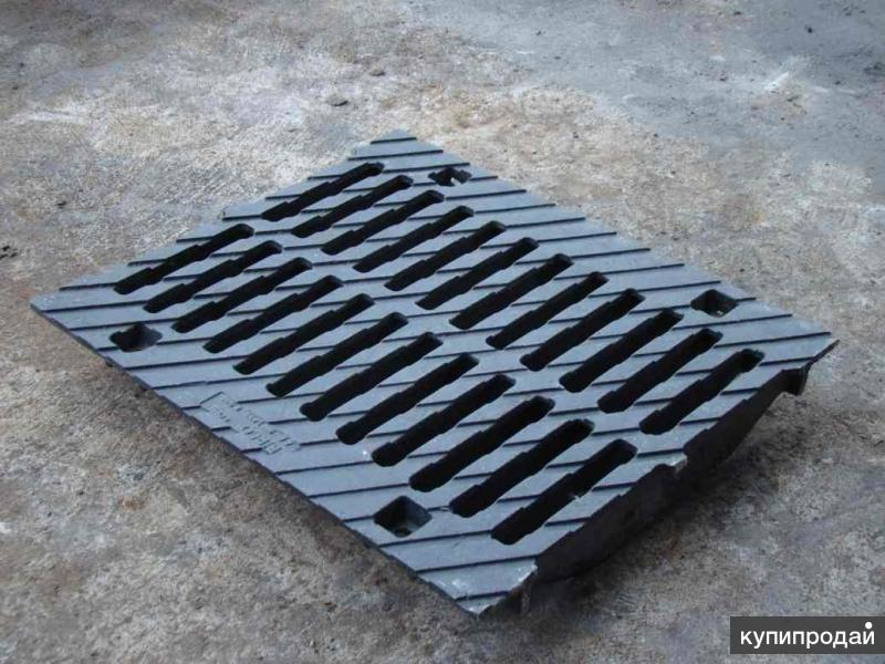 Решетки чугунные для ливневой канализации