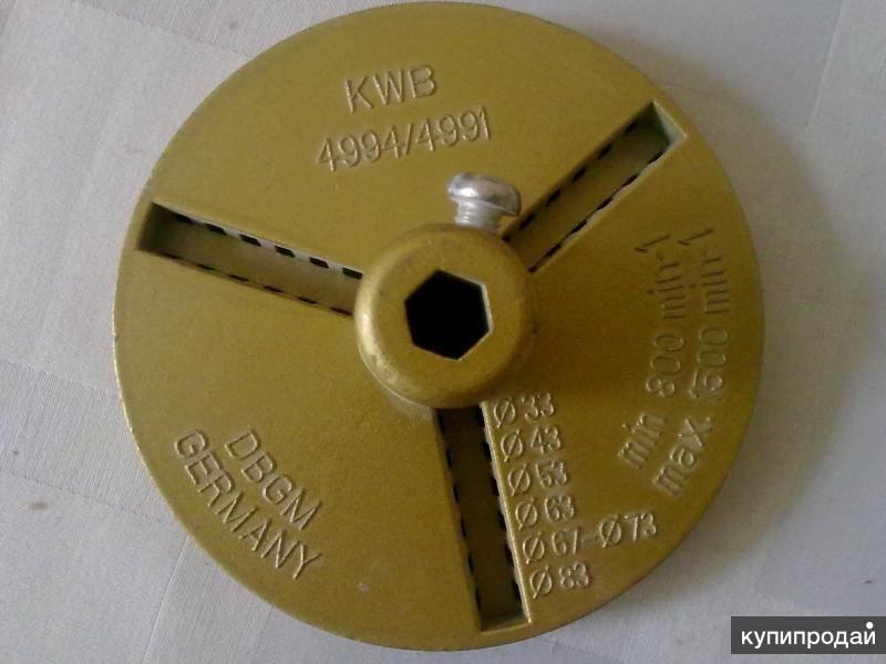 Коронка и Патрон-переходник для сверления отверстий в керамической плитке