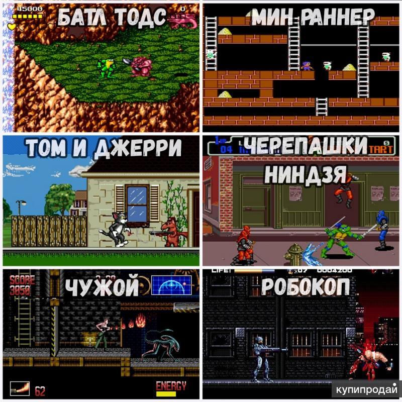 Полный список игр на денди с картинками