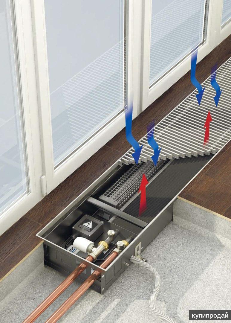 подключение водяного конвектора