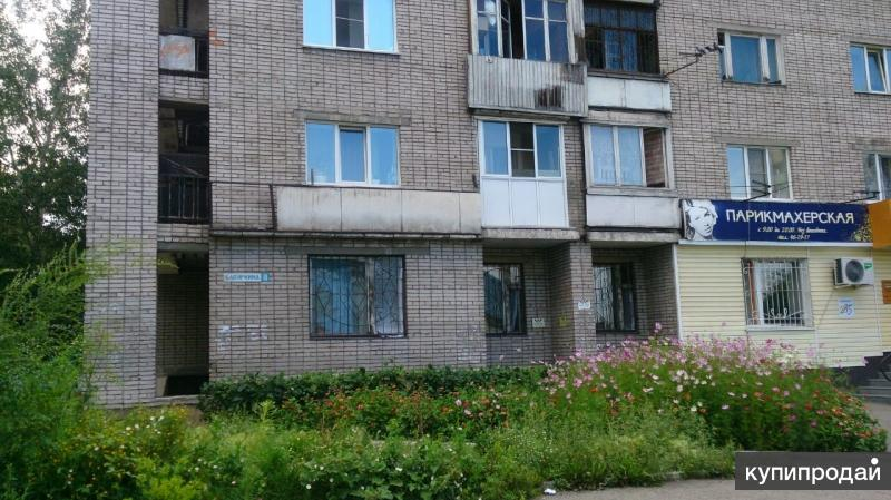 Однокомнатная квартира по адресу: г. Барнаул, ул. Бабуркина, д.8, кв.