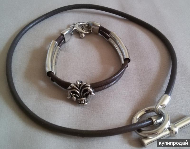 Комплект браслет и колье