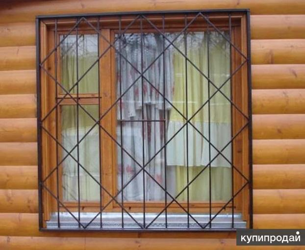 железные решётки на окна цены