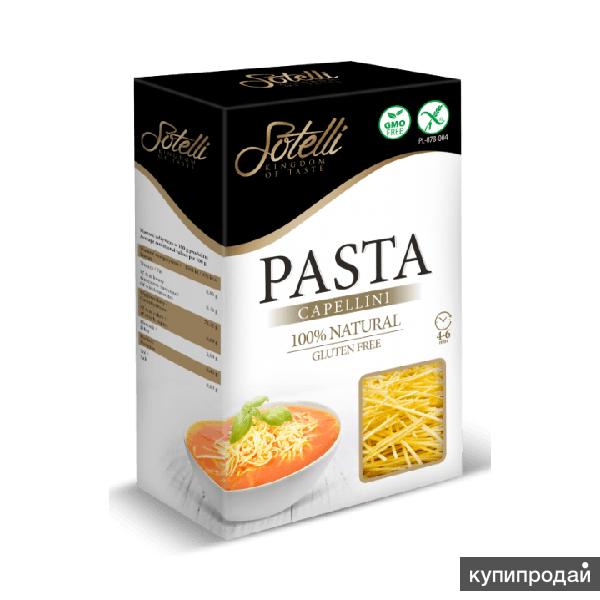 Кукурузные безглютеновые макароны Sotelli 250г