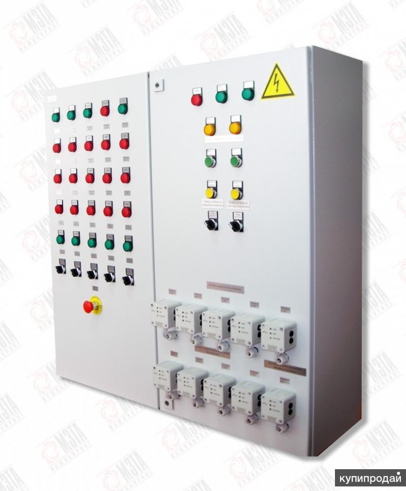 Шкафы и панели для управления азс