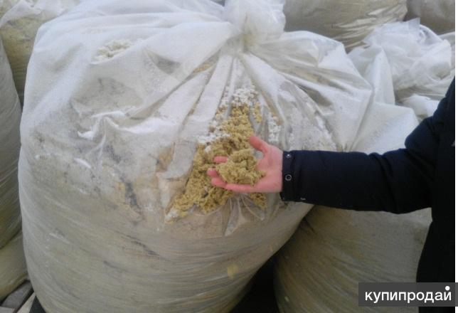 Базальтовый утеплитель в виде крошки(в мешке 1м3)