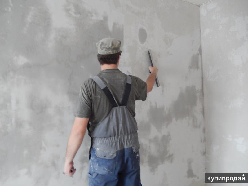 Выравнивание и ремонт стен