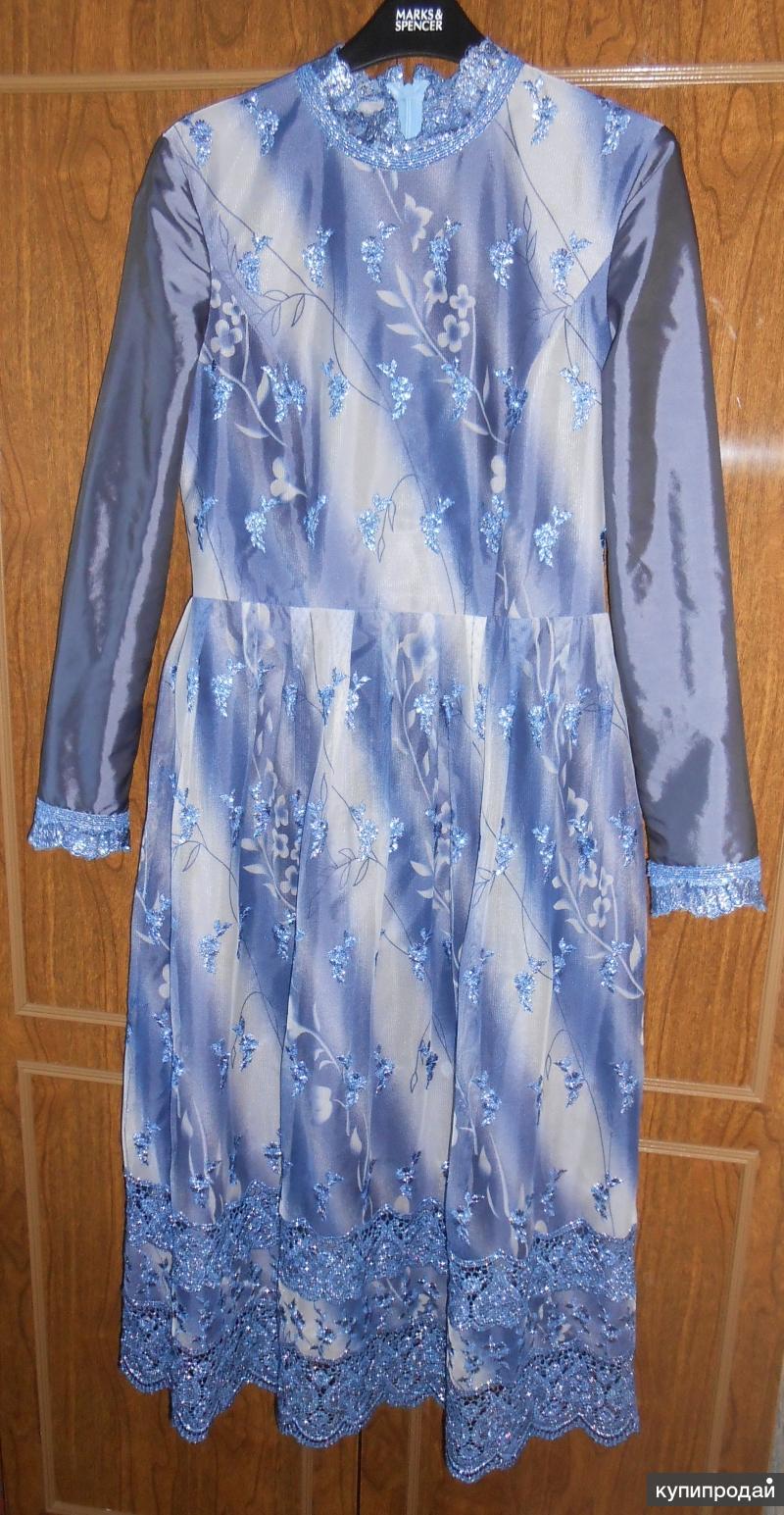 Платье гипюр на подкладе