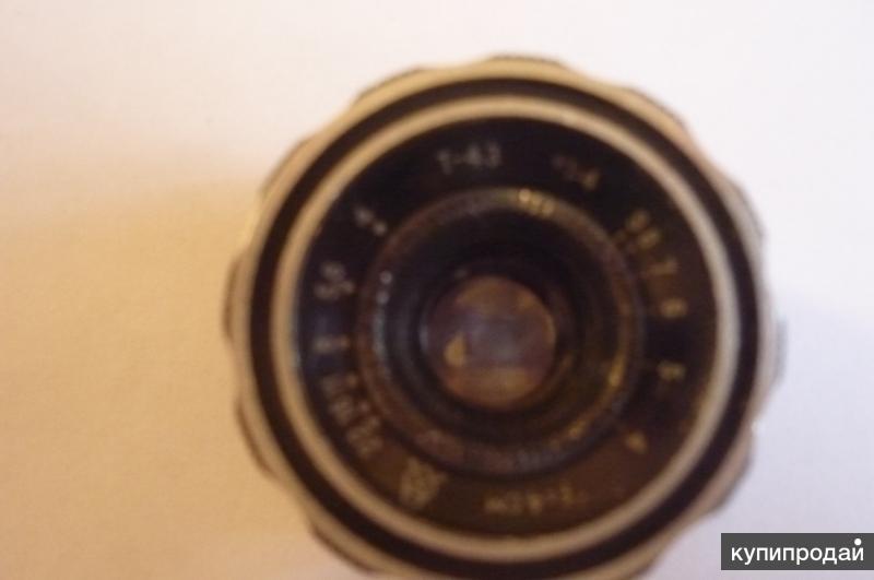 объектив для ретро фотоаппаратов СССР