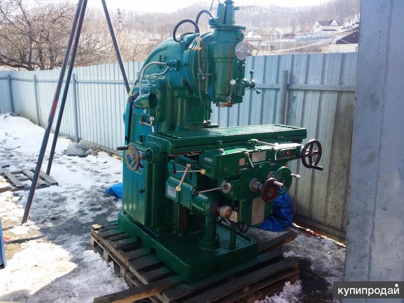 Станок вертикально фрезерный 6М12П продам, Владивосток