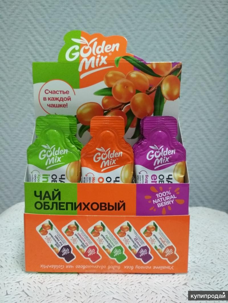 Чай облепиховый Т.М GoldenMix (3х5шт.)