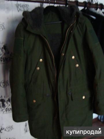 Куртка Парка на овчине р50