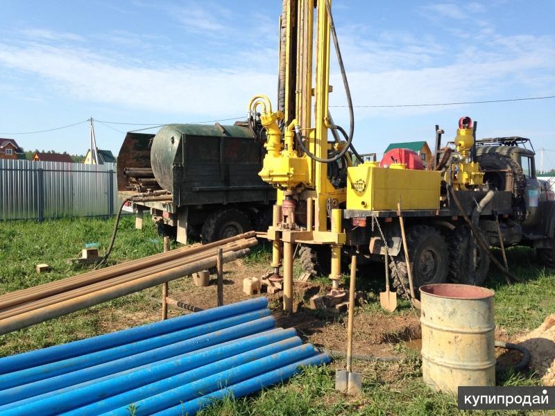 Бурение скважин на воду в Красноярске