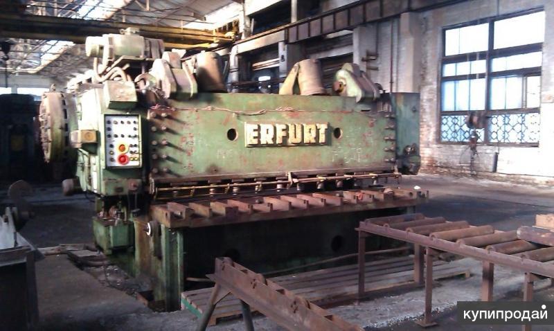 Продается Гильотина Erfurt ScTP 25x3150