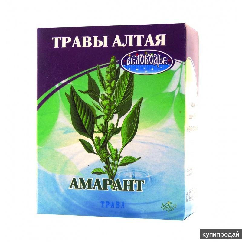 Амарантовый чай продлевающий молодость