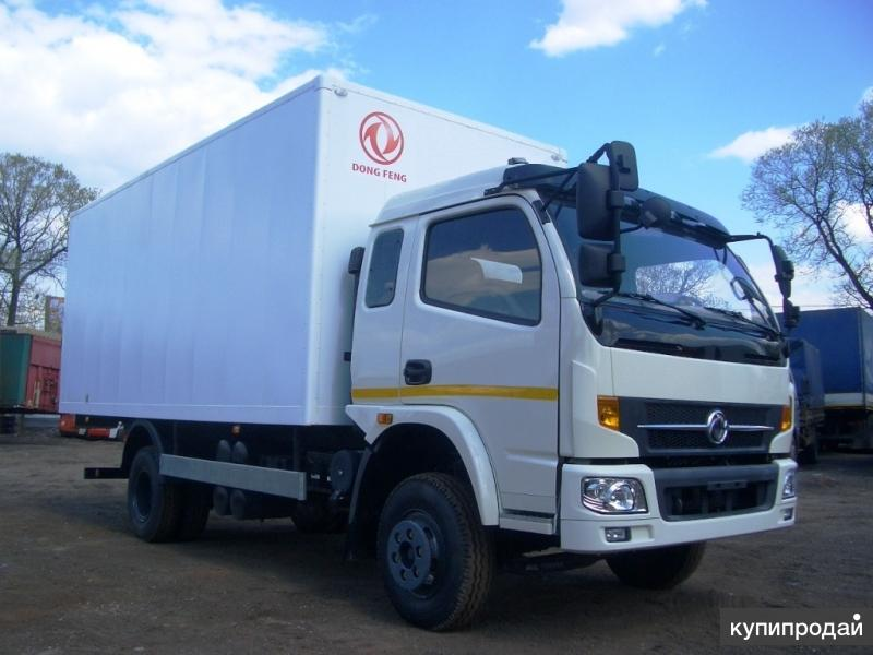 Dong Feng DFA 1120 с изотермическим фургоном