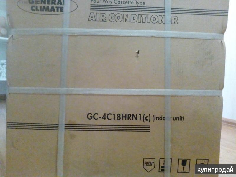 кассетный кондиционер  General Klimate GC 4C18HRN1(c)
