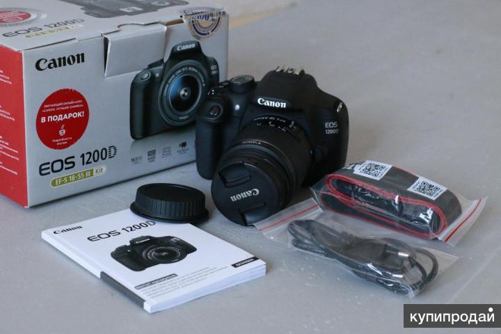фотоаппарат Canon 1200D