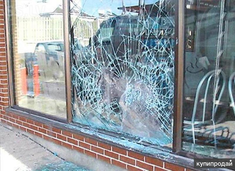 Бронирование пленкой входные группы, витрины, перегородки, стекол окон, фасадов