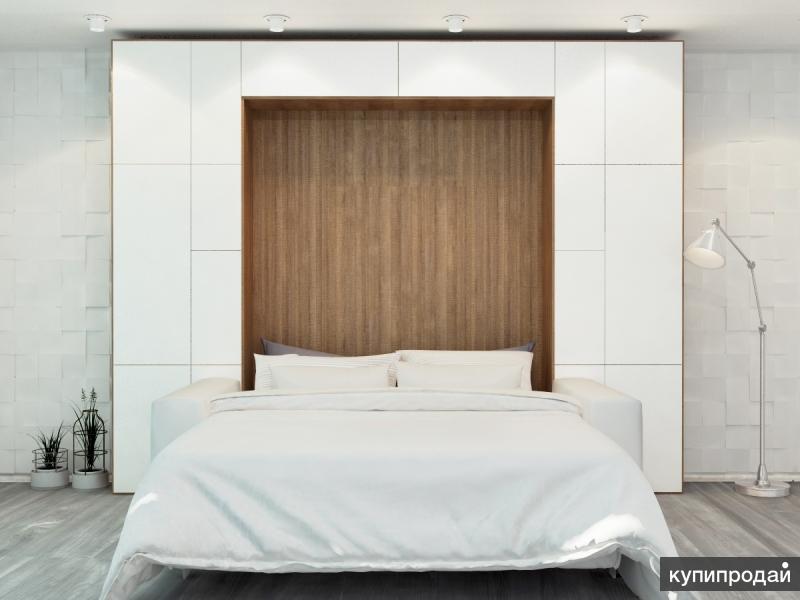 BSS12-T Вертикальная шкаф кровать 2в1