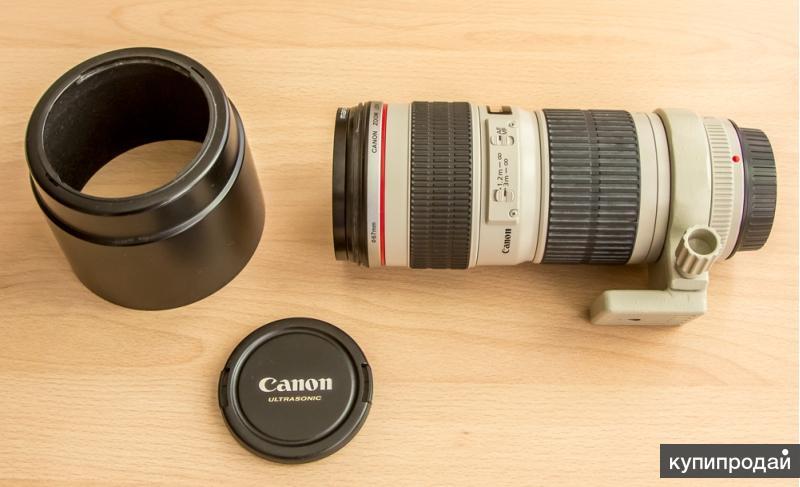 Объектив Canon EF 70-200mm f 4L USM