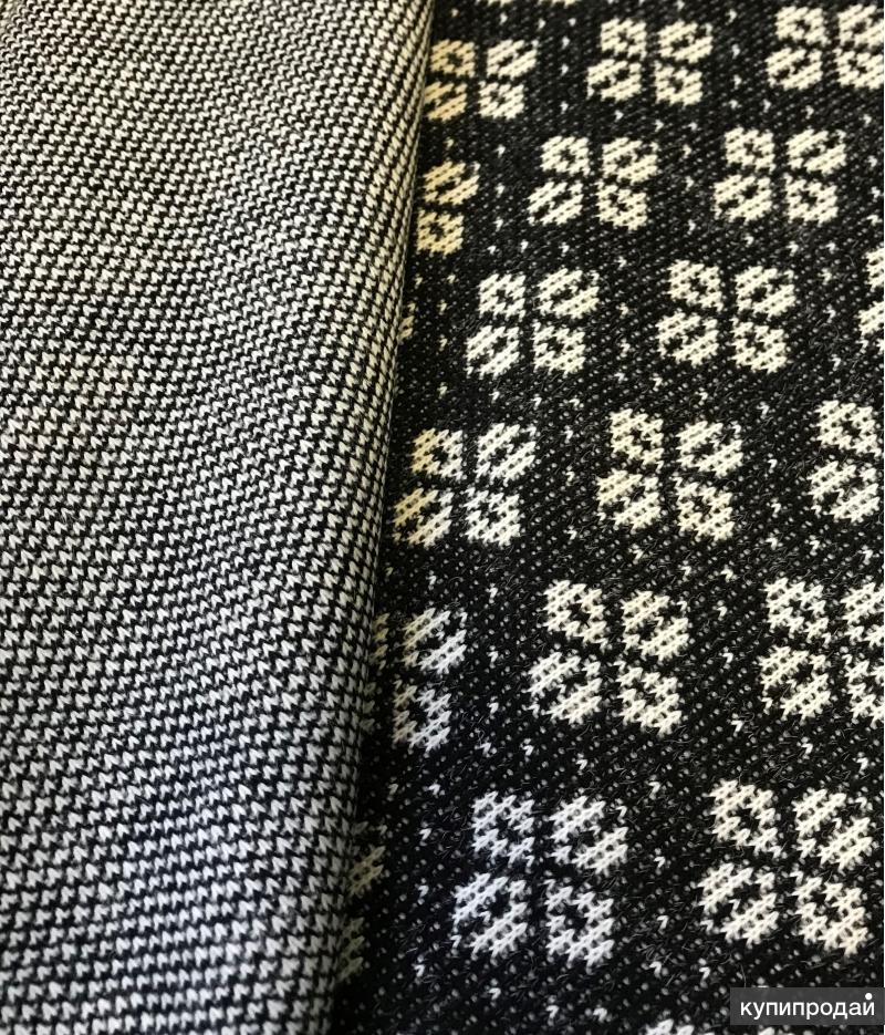 Вязаное трикотажное полотно