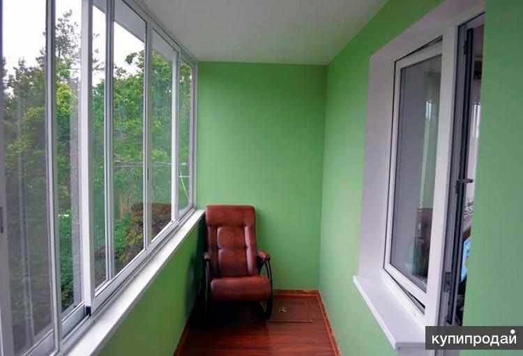 Лоджии под ключ - утепление отделка балкона, ремонт окон в Пензе