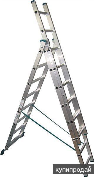 Куплю лестница 3 х секционная 3х10, алюминиевая, бытовая