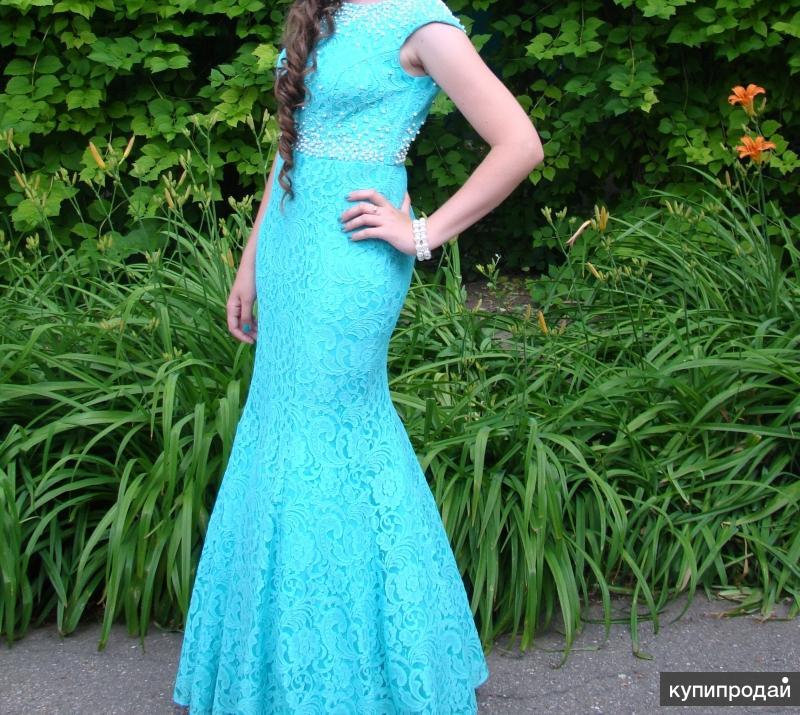 Продаю выпускное платье(рыбка)