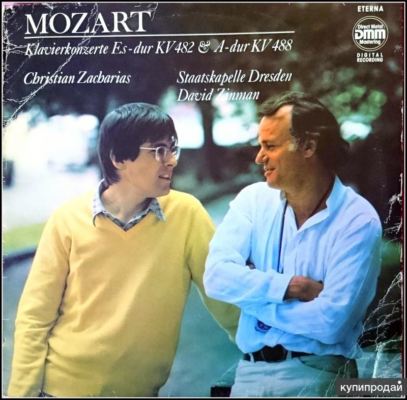 Моцарт Mozart Klavier-Konzert N 22 N 23