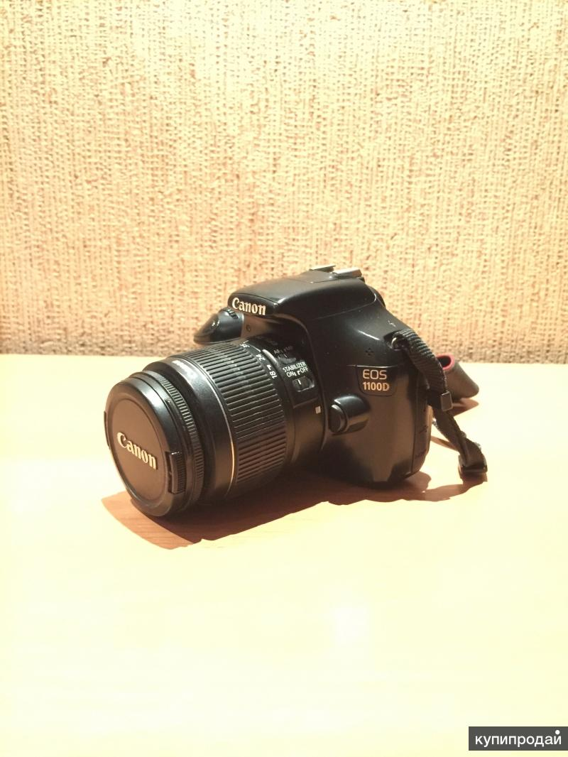 Продам фотоаппарат Cannon 1100D
