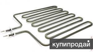 ТЭН для сауны 2 квт., нижнее подключение, нержавеющая сталь жаростойкая
