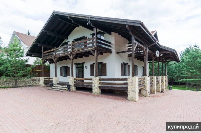 Продам элитный дом в Верхней Сысерти (45 км от Екатеринбурга), расположенный в