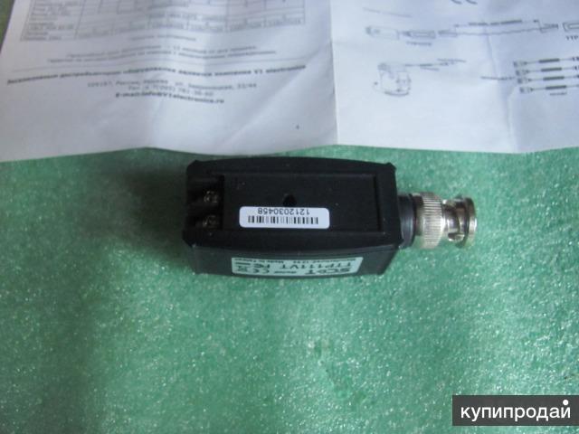 Приемопередатчик видеосигнала по витой паре на 600 м., SC&T TTP111VT