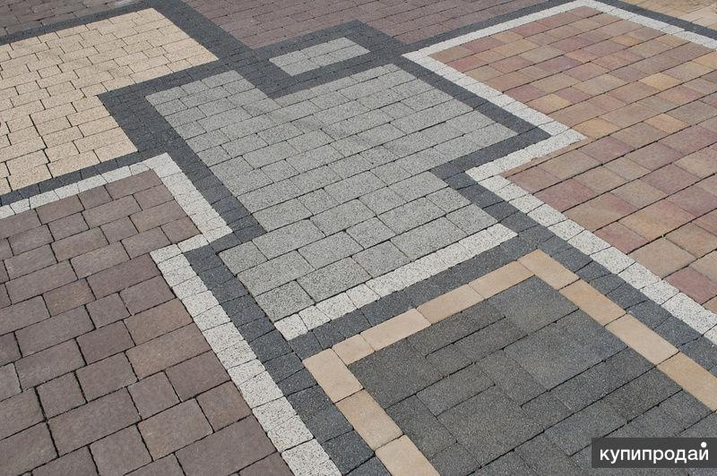 Укладка тротуарной плитки цена за работу