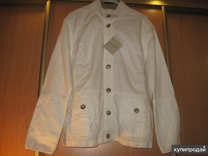 "Куртка белая фирмы blue willi""S оригинал"