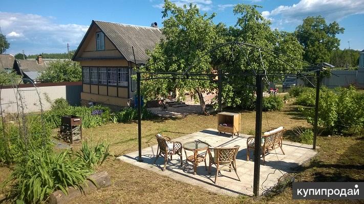Уютный дом 100 м2, / сруб /, на 13 сотках с садом. Пмж. Рядом лес, река