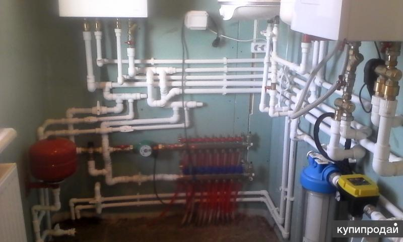сантехнические и ремонтной строительные работы