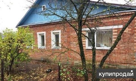 Большой , крепкий кирпичный дом в деревне 84 м2, на участке 24 сот.