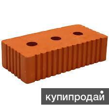 Кирпич Каширский одинарный рифленый рядовой