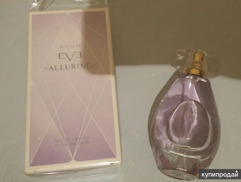 Продам парфюмерную воду Avon Alluring