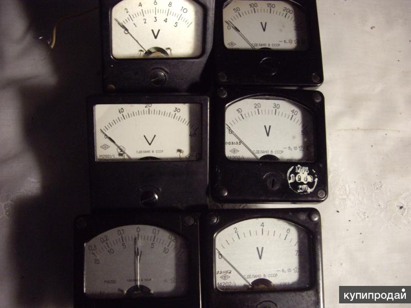 Измерительная головка для радиолюбителей Вольтметр
