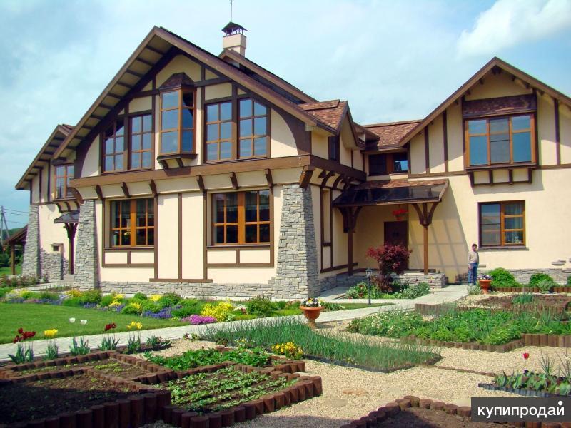 Проектирование, строительство: дом, коттедж